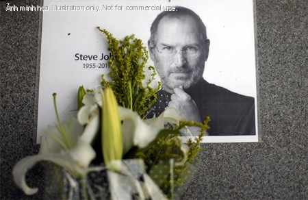 Steve Jobs mt ng&agrave;y 5/10. nh: Yahoo News.