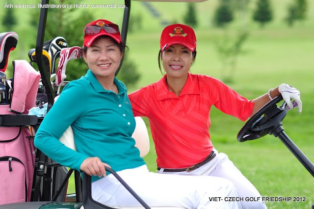 Viet-Czech golf friedship tournament 2012