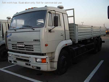 xe KAMAZ 65117