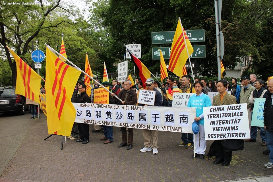 1399760476.464 Ten Thousand Overseas Vietnamese Turned Reactionaries In Protesting Against China Across The Globe