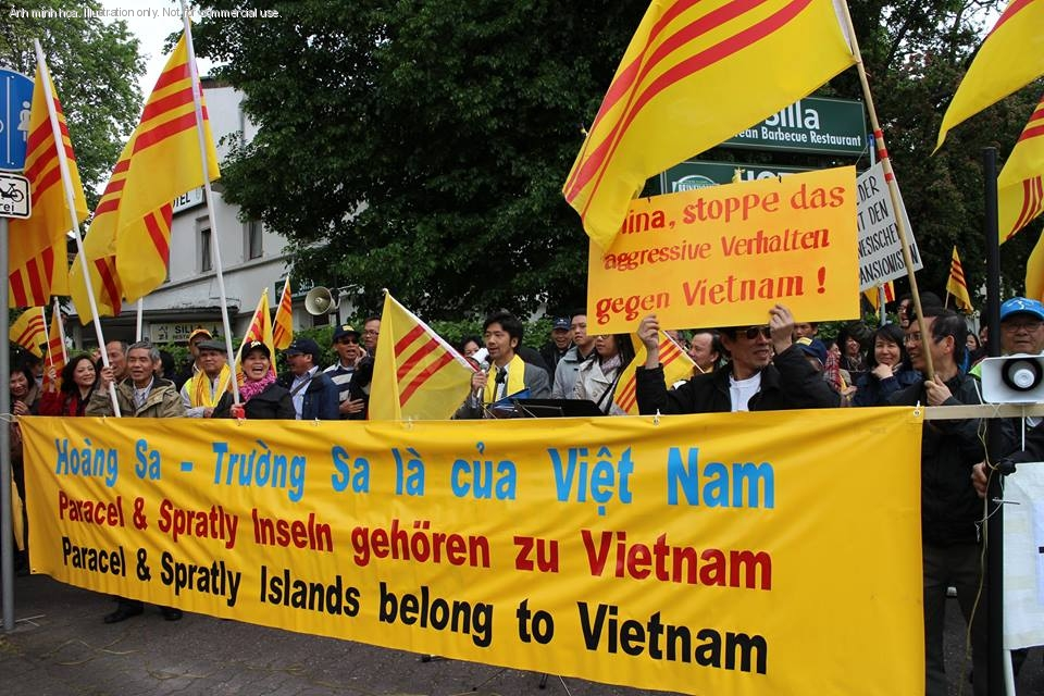 1399760477.5808 Ten Thousand Overseas Vietnamese Turned Reactionaries In Protesting Against China Across The Globe