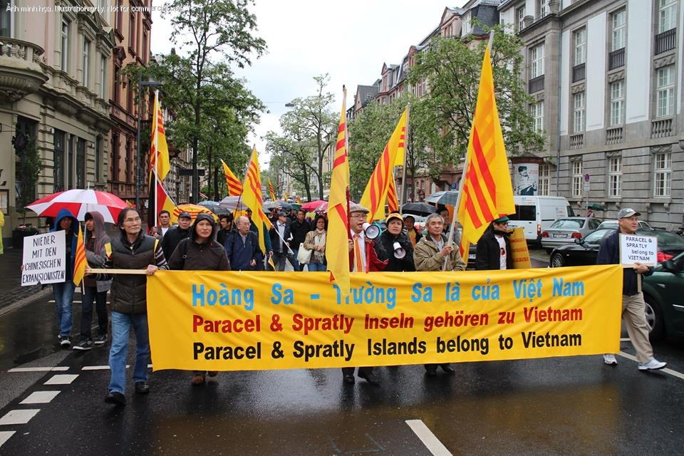 1399760478.2342 Ten Thousand Overseas Vietnamese Turned Reactionaries In Protesting Against China Across The Globe