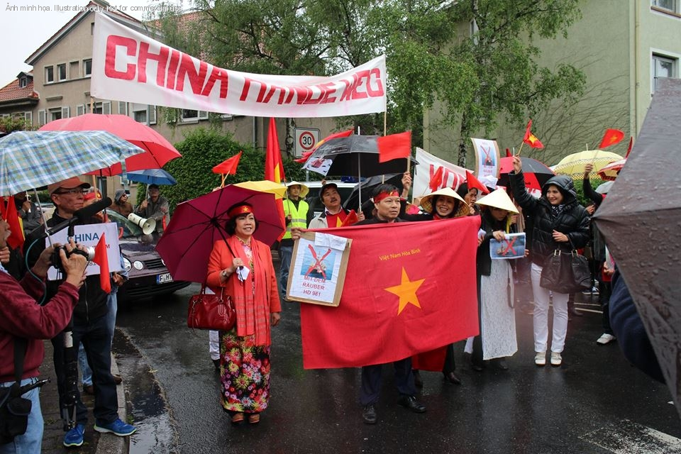 1399760479.211 Ten Thousand Overseas Vietnamese Turned Reactionaries In Protesting Against China Across The Globe