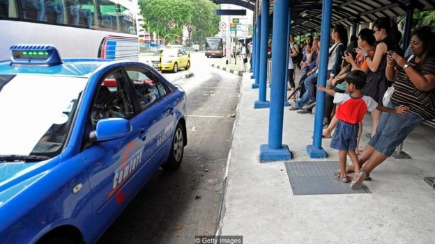 Public transport and taxis in Singapore are cheap and plentiful - so a car often isn't necessary