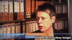 """Luật sư người Đức của ông Thanh, từng bày tỏ lo ngại rằng thân chủ của mình """"không được xét xử công bằng"""" vì các phát ngôn trước đây của ông Trọng."""