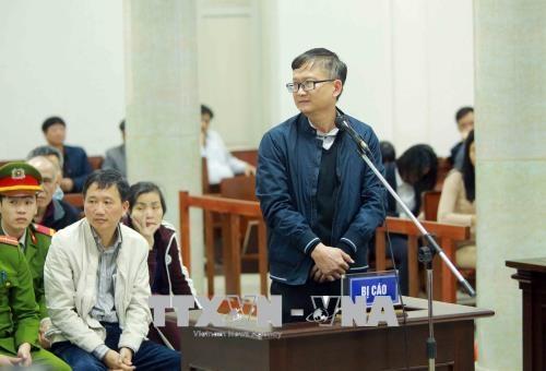 Trịnh Xuân Thanh, xét xử Trịnh Xuân Thanh, PVC, PVP Land, Đinh Mạnh Thắng