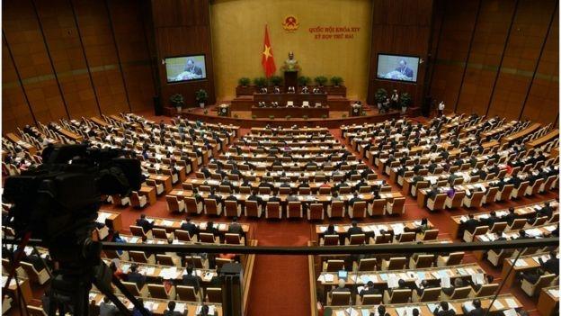Toàn cảnh kỳ họp Quốc hội tháng 10/2016.