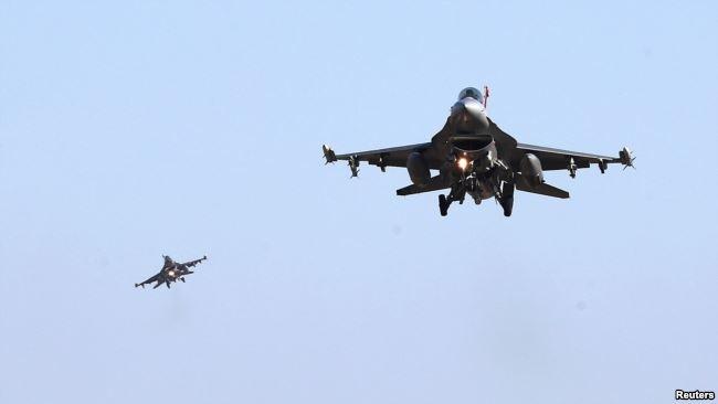 Chiến đấu cơ F-16 của Mỹ.