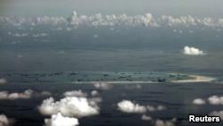 Thời gian qua, Trung Quốc cấp tập xây dựng các đảo nhân tạo trên Biển Đông.