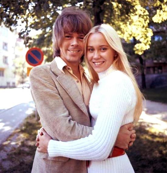 Agnetha và Bjorn.