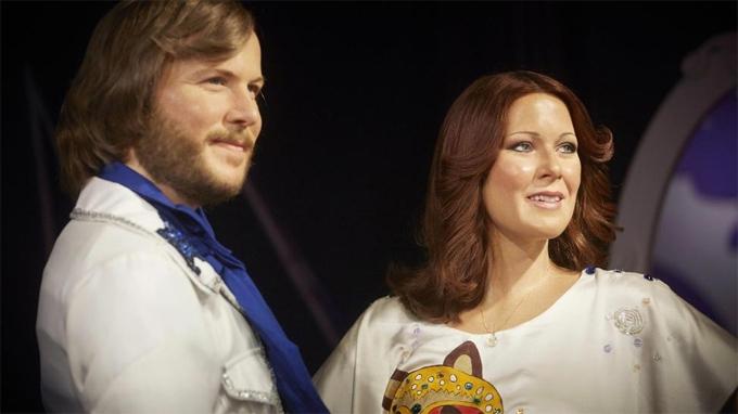 Benny bên người vợ cũ - thành viên ABBA Anni-Frid Lyngstad.