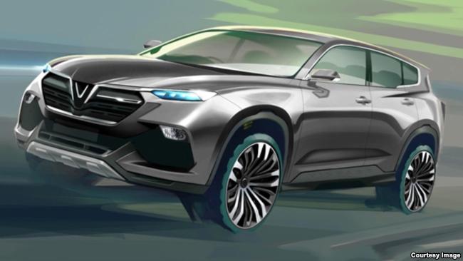 Một trong các mẫu xe hơi của VinFast được người tiêu dùng Việt Nam bình chọn nhiều nhất.