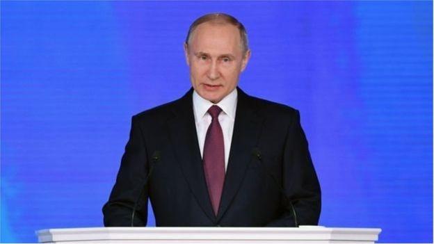 Đây là bài phát biểu cuối cùng của ông Putin trước kỳ bầu cử