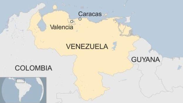 Bản đồ Venezuela