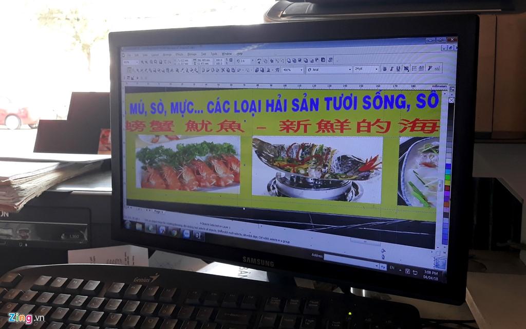 Nghe lam bien hieu phat len nho 'pho Tau, nuoc Nga' o Nha Trang hinh anh 3
