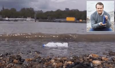 Chai nước cứu cả thế giới: tan trong nước biển sau 3 tuần, cá ăn vào cũng chẳ