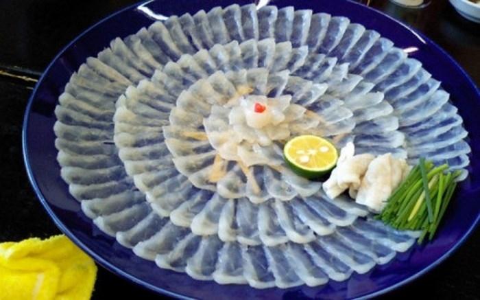 Cá nóc Fugu thực phẩm giá