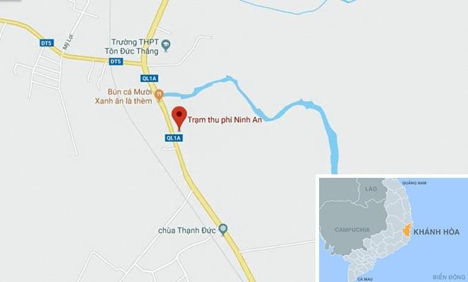 Tai xe duoi danh nhan vien, buoc BOT Ninh Loc xa tram hinh anh 3