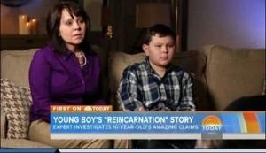 Cậu bé tên Ryan Hammons, tại bang Oklahoma, Mỹ, nhớ lại kiếp trước của mình là diễn viên Hollywood (Ảnh: Cắt từ video)