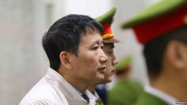 Ông Trịnh Xuân Thanh tại tòa hôm 5/2.