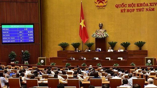 Quốc hội Việt Nam ngày 12/6