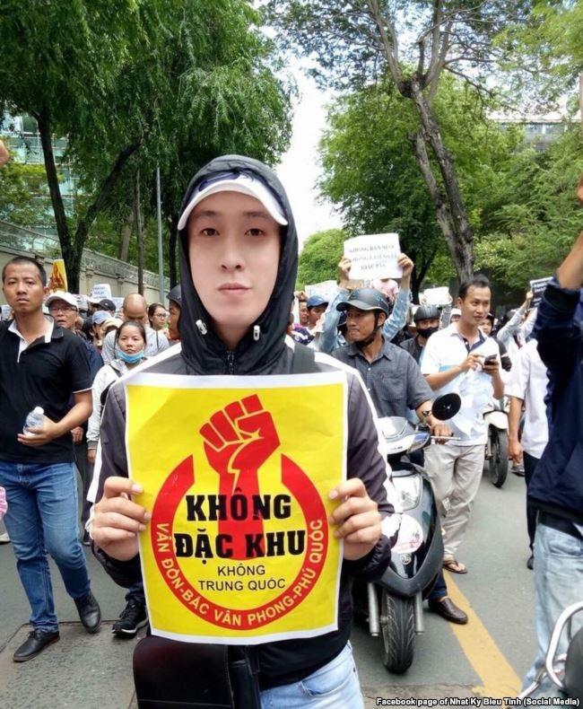 Anh Lý Bình bị công an Tp.HCM tạm giữ gần 1 ngày hôm 17/6/2018