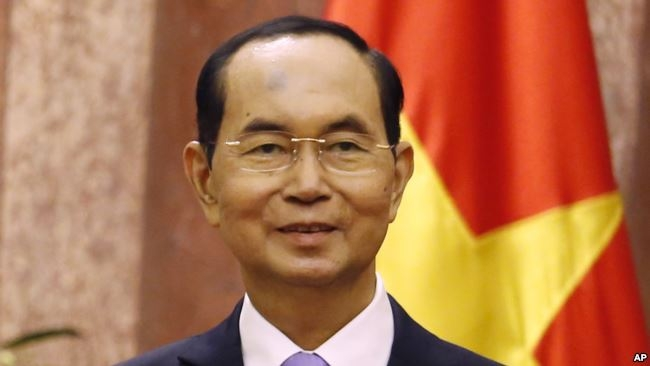 Ông Trần Đại Quang, 13/9/2018.