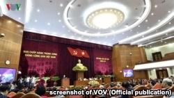 Hình ảnh Hội nghị Trung ương 8.