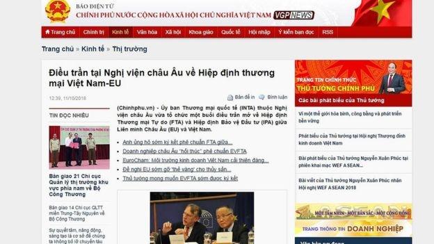 Báo Việt Nam đưa tin về sự kiện