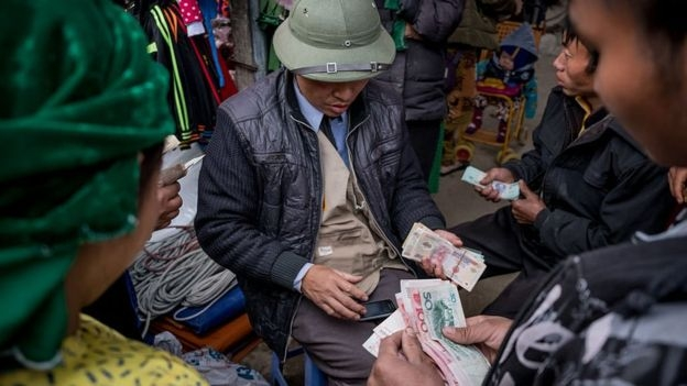 Việt Nam, Nhân dân tệ