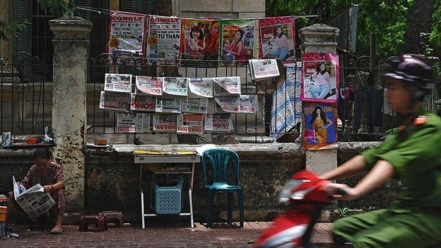 Việt Nam, tự do báo chí