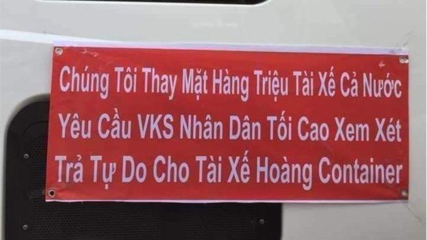 Nhiều tài xế lên tiếng ủng hộ tài xế Lê Ngọc Hoàng