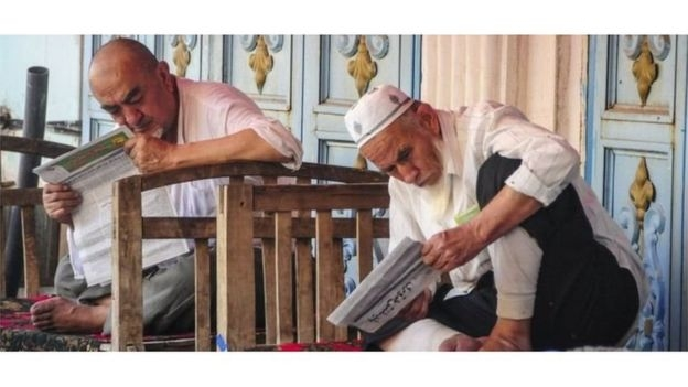Người Uighur ở Tân Cương