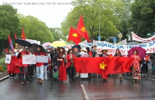 500 thumb Ten Thousand Overseas Vietnamese Turned Reactionaries In Protesting Against China Across The Globe
