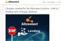 Hàng ngàn người Việt hoảng loạn: Bitconnect dừng hoạt động