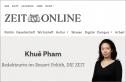 Nữ biên tập viên báo Zeitmagazin: Việt Nam có thể sẽ vươn tay tới những người bất đồng chính kiến tại Đức