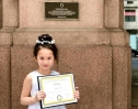 Bé gái gốc Việt 6 tuổi, giành giải hai giải nhất piano quốc tế tại Mỹ