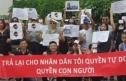 Biểu tình phản đối đại biểu QH Nguyễn Văn Thân ở Ba Lan