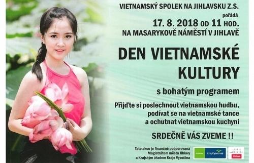 Ai tổ chức Ngày Văn hóa Việt Nam ở Jihlava?