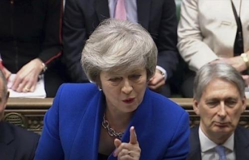 Chính phủ của bà Theresa May vẫn được quốc hội Anh tín nhiệm