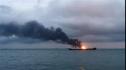 Nga: 11 người thiệt mạng, 9 người mất tích trong vụ cháy tàu ở eo biển Kerch