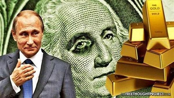 Nga chất vàng đầy kho: Bảo bối chống đòn phương Tây
