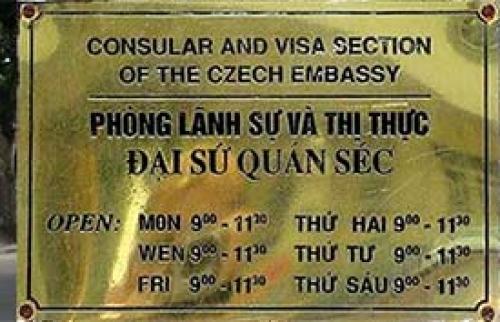 Qui tắc mới liên quan tới thị thực của đại sứ quán Séc ở Hà Nội- Thẻ làm việc