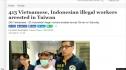 Thêm 246 người Việt làm việc bất hợp pháp bị bắt tại Đài Loan