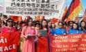 Người Việt ở Đức tuần hành phản đối Trung Quốc