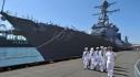 Khu trục hạm Mỹ lại vào gần đảo tranh chấp ở Biển Đông