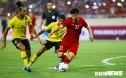 Quang Hải lập siêu phẩm, tuyển Việt Nam xuất sắc đánh bại Malaysia