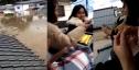 Bão Hagibis làm ngập nhà, 7 cô gái Việt ở Nhật trốn kịp lên nóc ngồi ăn mỳ tôm