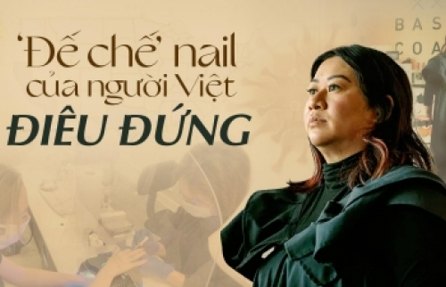 'Đế chế nail của người Việt điêu đứng